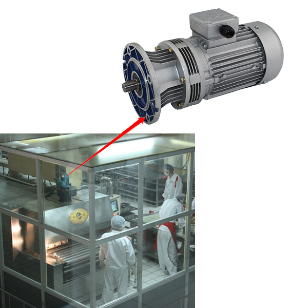 WB series cycloidal Speed reducer for Food machinery original breakfast cereal production line