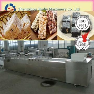 automatically breakfast cereal bar production line on sale