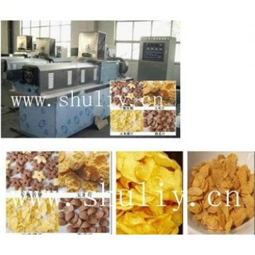Popular corn flakes, breakfast cereal snack machine