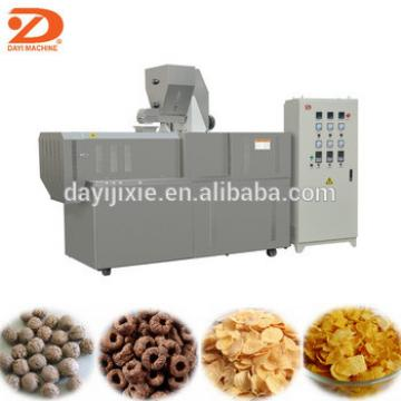 small scale grain cereal corn flakes making machine