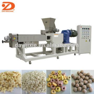 automatic breakfast cereal puffing machine