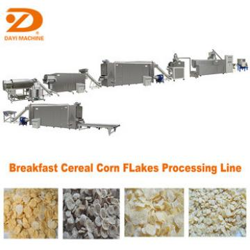 Dayi Big Capacity Breakfast Cereal Corn flakes Production Line Extruder Machine