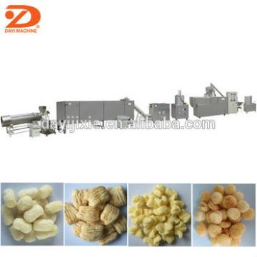 corn cheese puff snack extruding machine