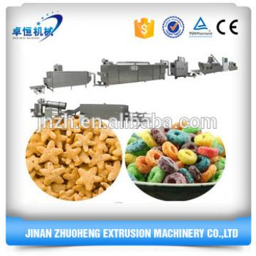 CE Automatic breakfast cereal processing machinery