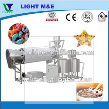 Breakfast Cereal Rice Corn Puff Snacks Suger Coating Machine