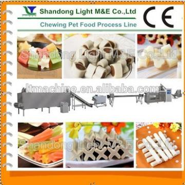 Automatic Chocolate Flavored Dog Chewing Food Making Machine