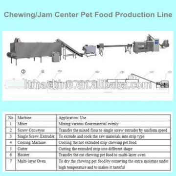 Big Capacity Delicious Shandong Light Chewing Food Dog Treat Machine
