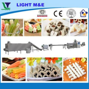 Hot Sale Best Shandong Light Pet Dog Animal Chew Food Machine Line