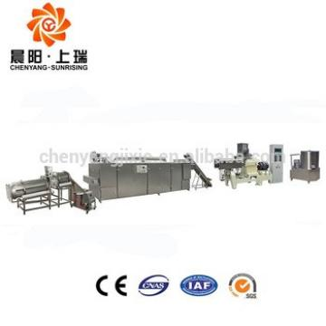 Nutritional cereal breakfast corn flake extruder machine