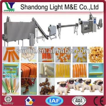 Pet Food Dog Snack Twin Screw Extruder Machine for Chewing Gum