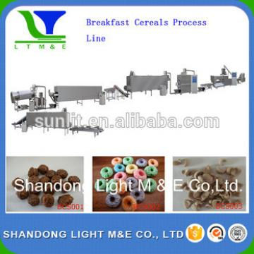 breakfast corn flakes processing machine