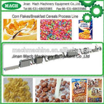 2015 latest tech CE corn flake making machine breakfast cereal machine