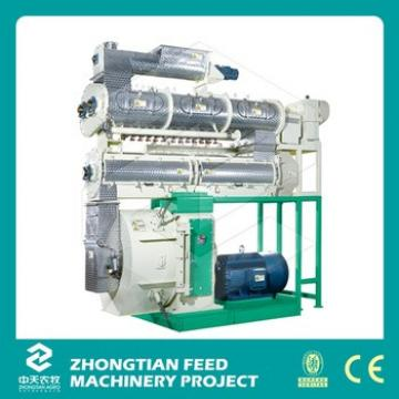 Competitive Ring Poultry Feed Mill / Animal Feed Pellet Machine For Chicken