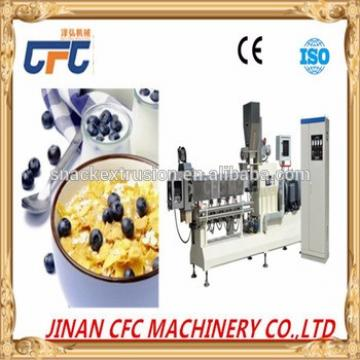 corn flakes making machine&rice flakes machine/snacks food machine/grain processing machine