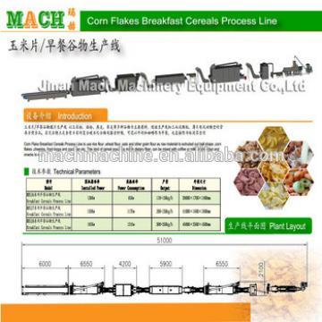 Organic Frosted Corn Flakes Making Machine