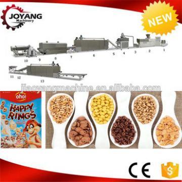 Crispy Corn Flakes Breakfast Cereals Making Machine
