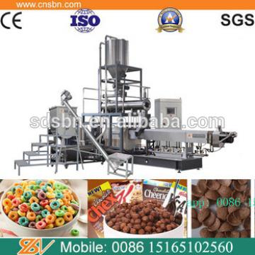Commercial kelloggs puffed instant corn flakes production machine line