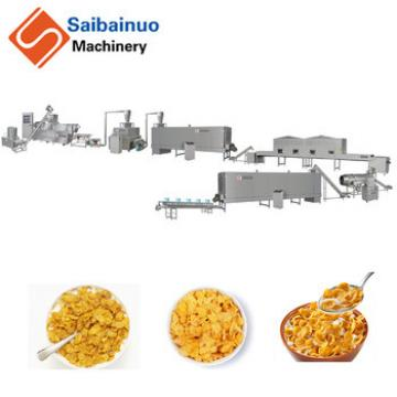 Professional Corn Flakes Breakfast Cereal Bar Processing Line With Good Service