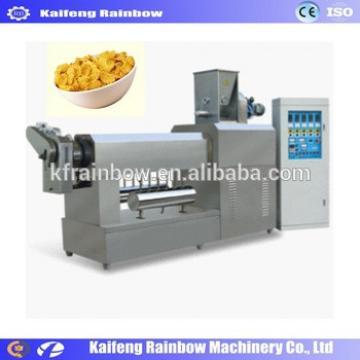 Factory Price Automatic Grain Flake Making Machine extruder corn maize flakes breakfast cereals machine/cornflakes making machin
