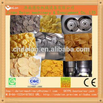 healthy corn flakes breakfast cereals production line