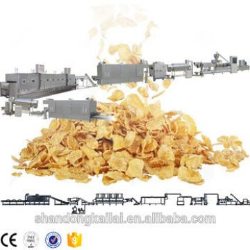 Crunchy cereals snacks extruder machinery