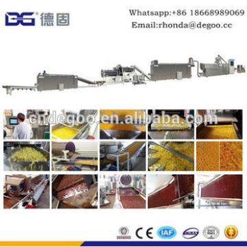 Top quality breakfast cereal extruder machinery coco pops making machine