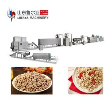 New arrival cornflakes cereal making extruder machine breakfast cereals production machinery