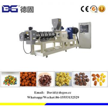 Puffing Breakfast Cereal Extrusion Making Machine Manufacturers Price