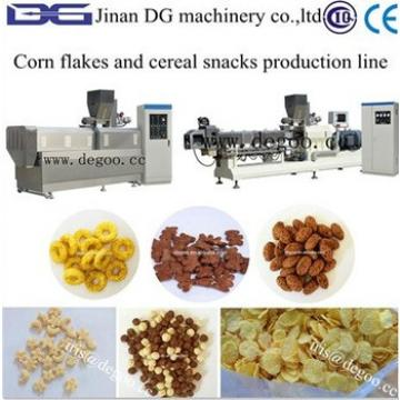 Extruded Corn flakes/Fruit loops/Coco curls/breakfast cereal processing machine