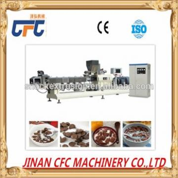2017 automatic high quality choco flakes making machine