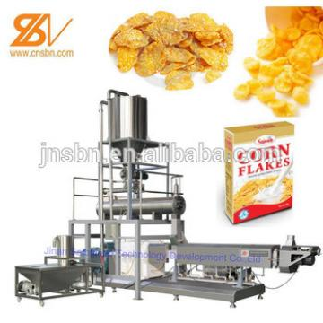 Industrial corn flakes manufacturing plant