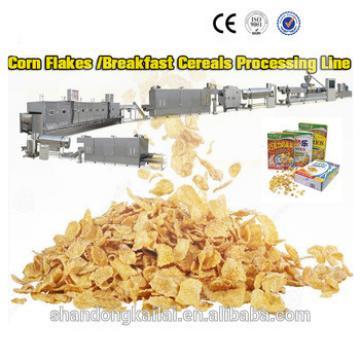 Jinan Shandong breakfast cereal food corn flakes production process small manufacturing machines
