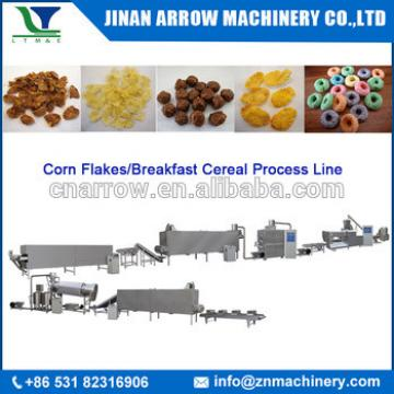 Organic Frosted Corn Flakes Breakfast Cereal Making Machine