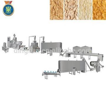 Breakfast cereal extruder equipment breakfast cereal corn flakes processing line