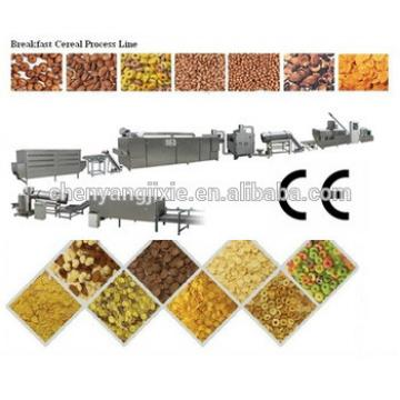 (2014 style !!!)High quality low price Extruder sweet corn flakes production machine line
