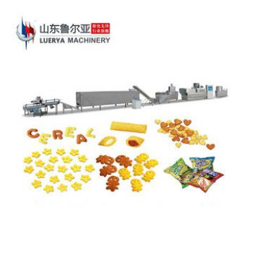 Eco-Friendly crisp cereal breakfast cornflakes machine cornflex extruder manufacturers machinery production