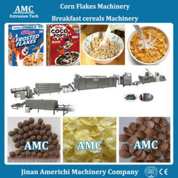Corn flakes processing line or production machine