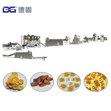 300kg/h New Style Nestle Kelloggs Corn Flakes Instant Baby Breakfast Morning Cereal Snack Food Extrusion Machinery Manufacturer
