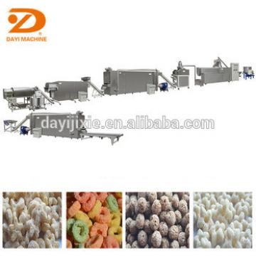 EU Technology Extrusion Plant Breakfast Cereal Instant Corn Flakes Machinery