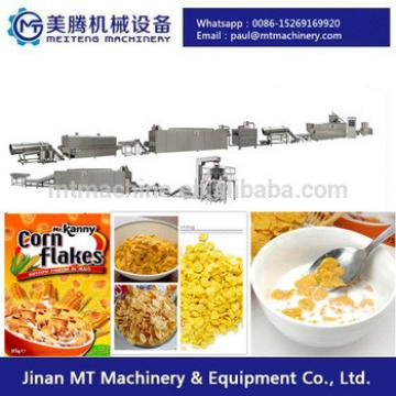 cornflakes breakfast cereal making machine