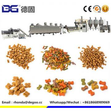 Low cost dry extruded dog food production line dry pet food equipment