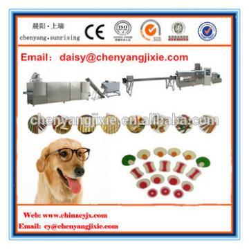 chews treats bone dog snack food making machine