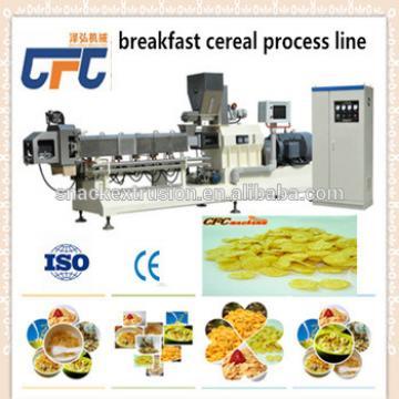 oats corn flakes making machine