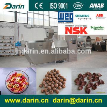 Automatic roasting corn flakes /Breakfast cereal processing plant from Darin Machinery