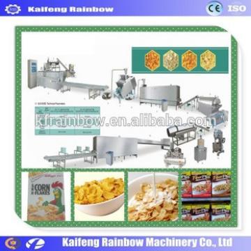 Big Discount High Efficiency Oatmeal Making Machine Breakfast Cereal Corn flake making machine