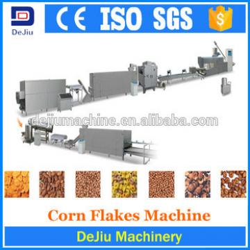 fine service automatic sweet corn flakes processing making machine price