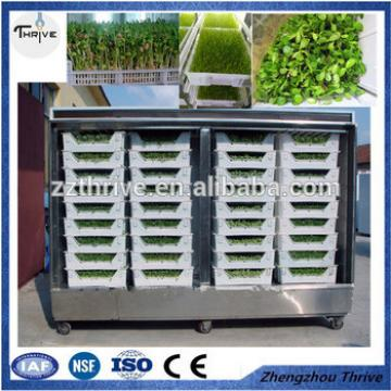 New researched bud seedling machine/hydroponic fodder growing machine for animal feed/bean sprout machine