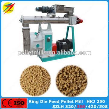 Hot Selling Ring Die Soybean meal Animal Feed Pellet Mill Machine