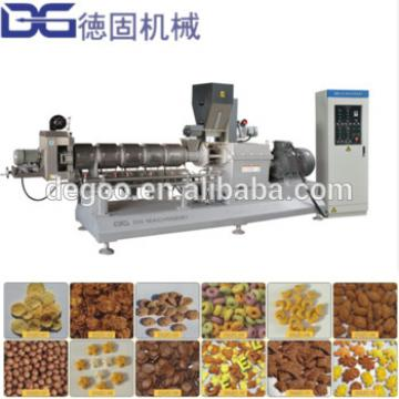 Nutritional Corn Flakes Breakfast Cereal Making Machine