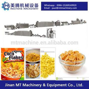 Automatic Extrusion Breakfast Cereal Snack Food Processing Machine
